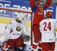 РОССИЯ - Белоруссия - 4:3 Б (0:2, 1:0, 2:1, 0:0, 1:0)