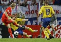 РОССИЯ - Швеция - 2:0 (1:0)